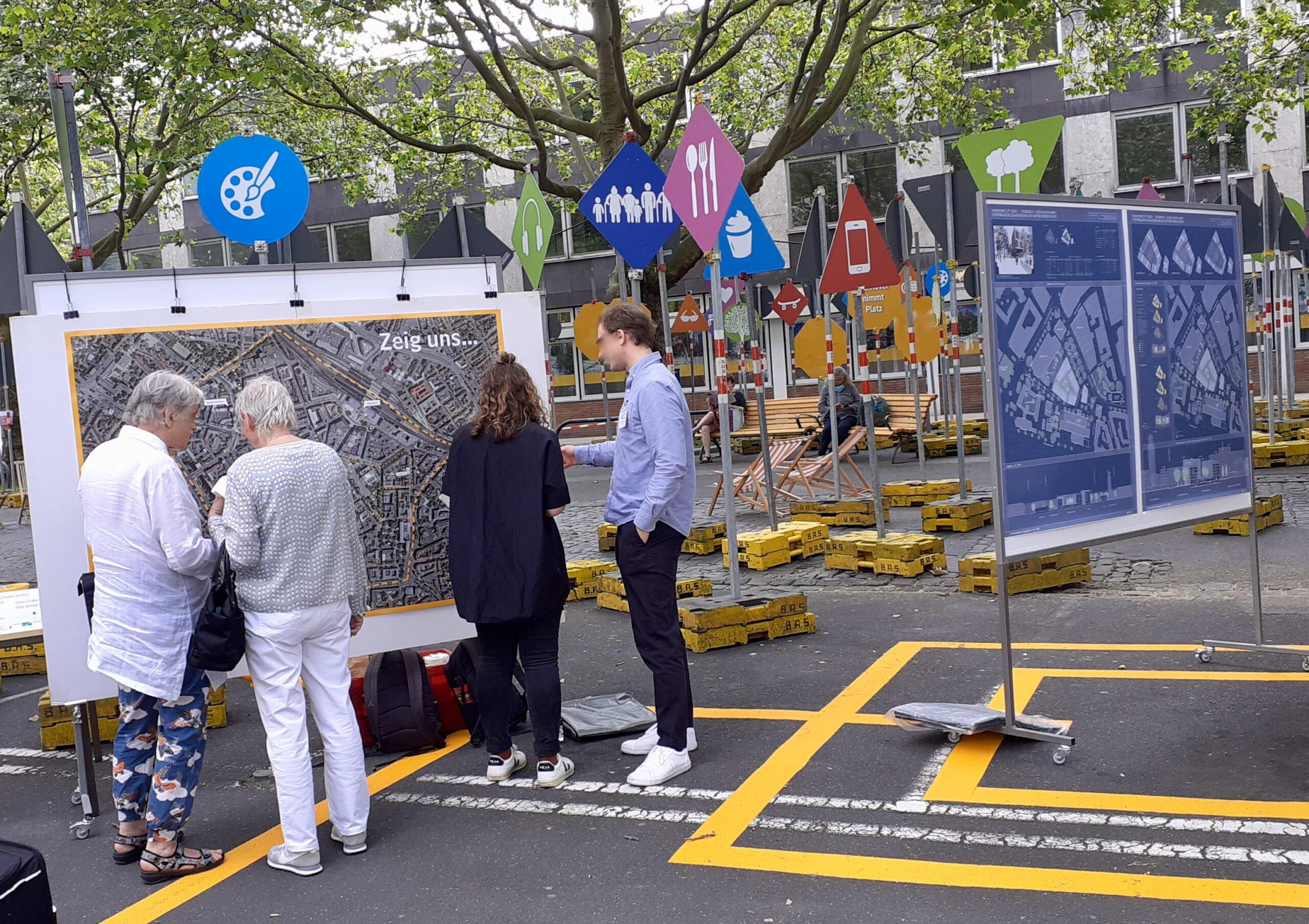 Innenstadt-Dialog Hannover: Experimentierräume gestartet