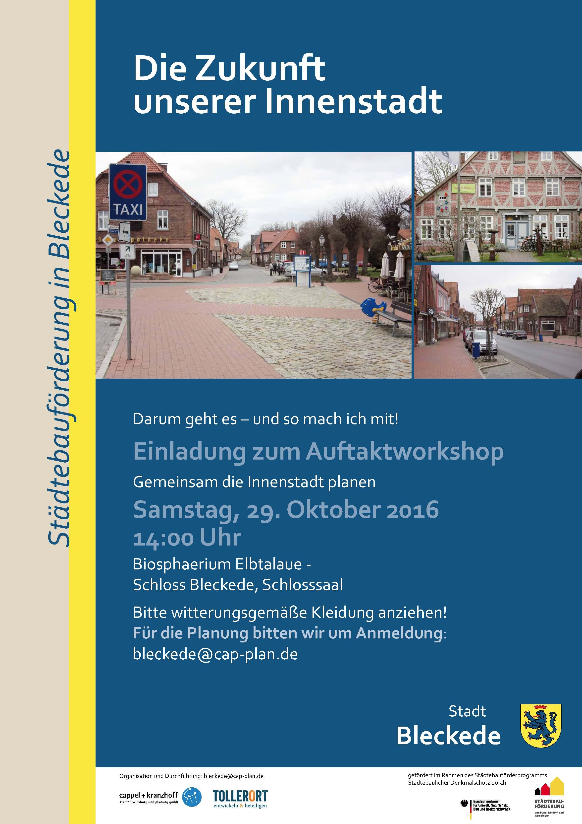 Rahmenplan Bleckede – Auftaktworkshop