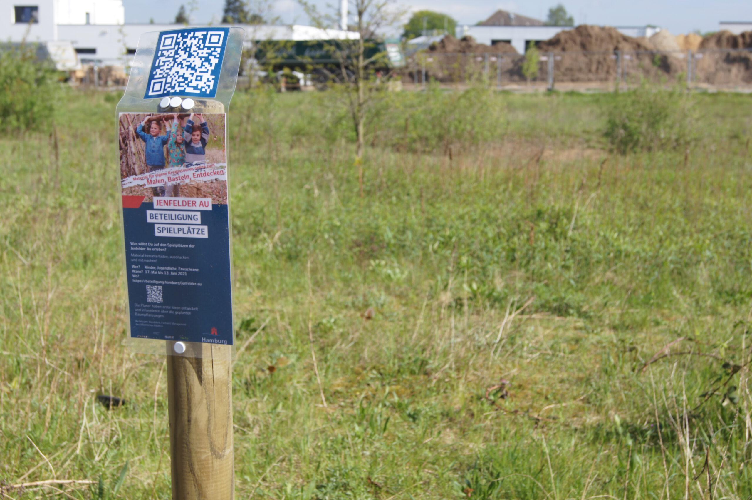 Beteiligung zur Gestaltung der Spielplätze in der Jenfelder Au gestartet