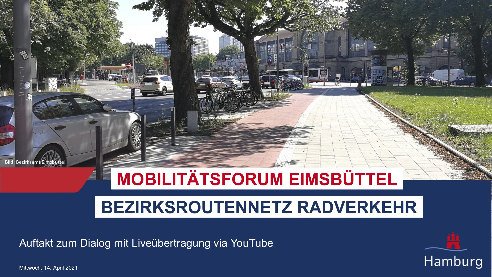 Mobilitätsforum Eimsbüttel: Livestream 14. April